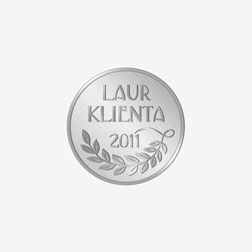 Srebrny Laur Klienta 2011